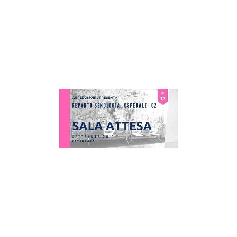 """SALA ATTESA - Nuovo Reparto di Senologia - Azienda Ospedaliera """"Pugliese-Ciaccio"""" - CZ"""