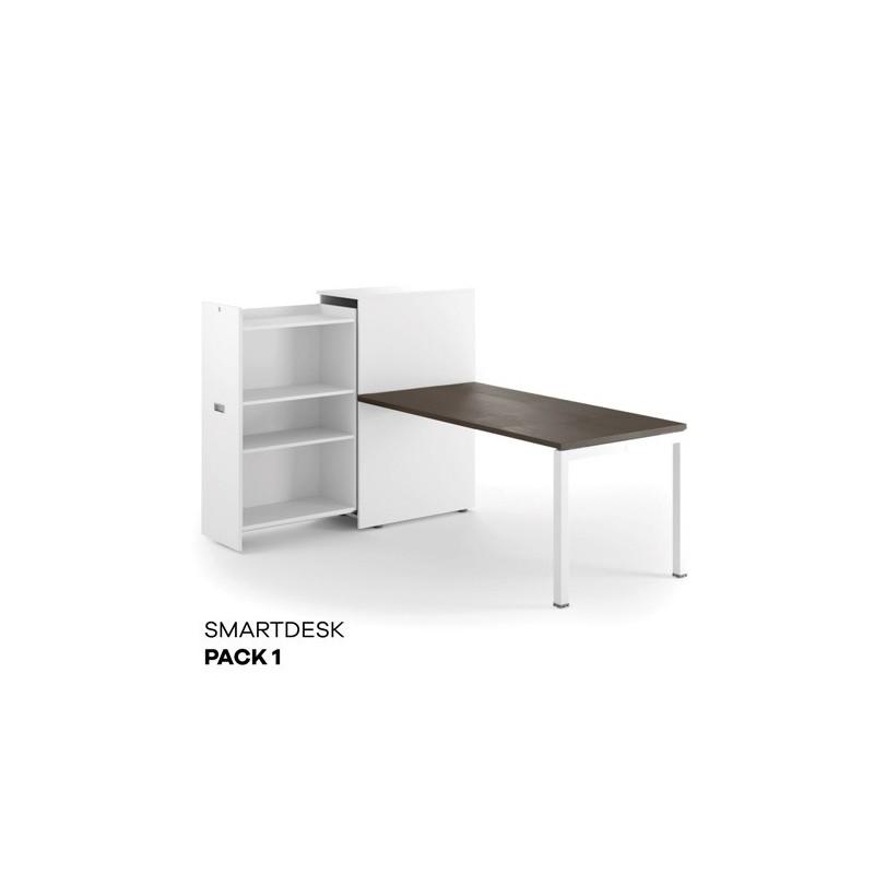scrivania con mobile portafaldoni comodo tutto a portata di mano