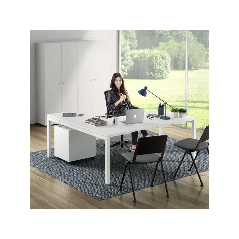arredo ufficio completo economico con scrivania cassettiera e mobili